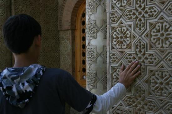 Turkestan, คาซัคสถาน: Mausoleum aishabibi