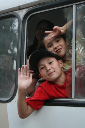 Turkestan, Kasachstan: Good bye day
