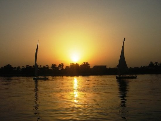 Corniche: River Nile, Luxor. One of my favorite places in the world.