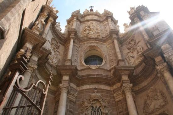 Valencia Cathedral: A really, really, really old cathedral in Valencia.