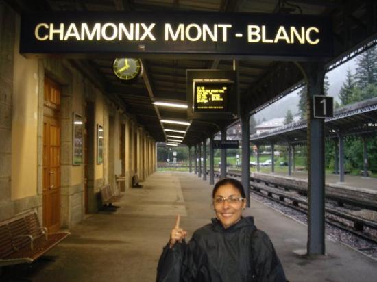 ชาโมนิกซ์, ฝรั่งเศส: Pasando frío a los pies del Mont-Blanc