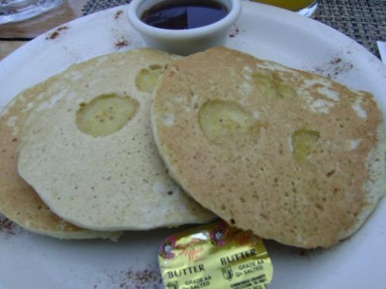 Rockhouse Restaurant: Mmmmmmm....banana pancakes!