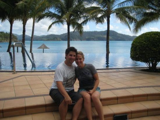 บริสเบน, ออสเตรเลีย: Our infinity pool! Dreamy!