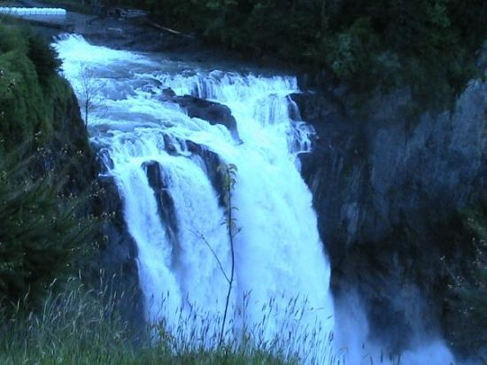 Snoqualmie, วอชิงตัน: the falls