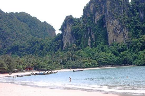 เมืองกระบี่, ไทย: Krabi, Thailand, Rei Ley Beach