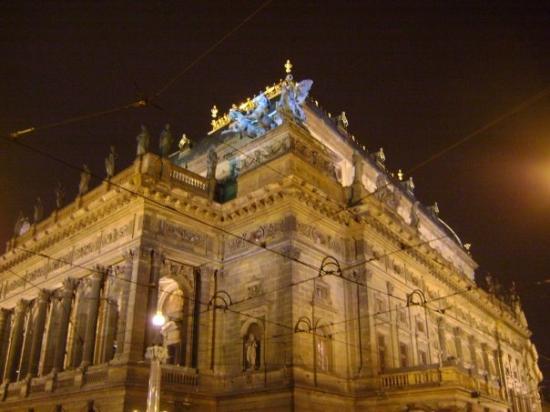 The Estates Theatre: el treatro...