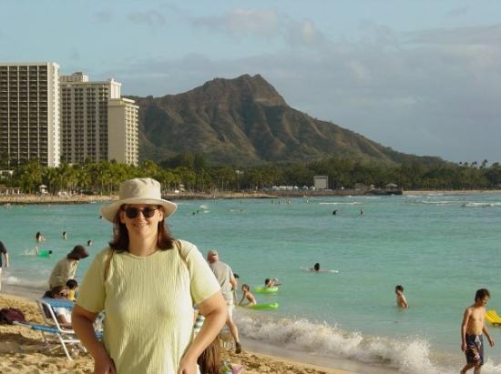 ไดมอนด์เฮด: Waikiki Beach