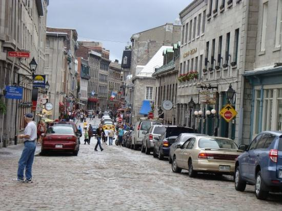 Old Montreal.  Love it!!!