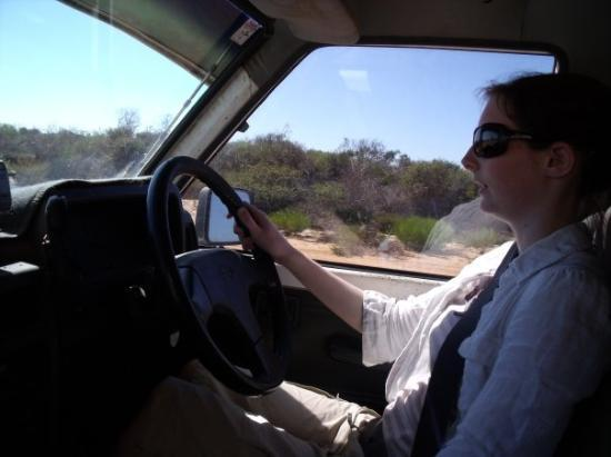 Kalbarri, ออสเตรเลีย: tara was enjoyin the drivin to much, didnt feel to safe