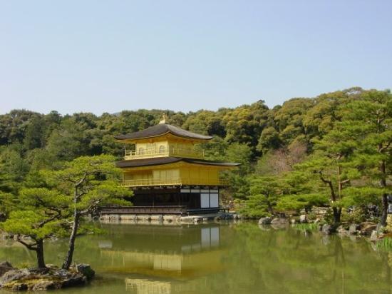 วัดคินคาคุจิ: The Golden Pavilion.