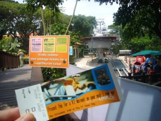 เกาะเซนโตซา, สิงคโปร์: ...其實見到果下好auo底...但無理由黎到唔玩ga !!...