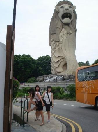 เกาะเซนโตซา, สิงคโปร์: ...唔知做咩...扮型..^u^...好騎呢ar ...