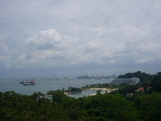 เกาะเซนโตซา, สิงคโปร์: 上到最高點...d 景真係好靚好靚...>3<..好正ar !!...