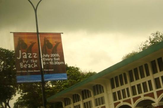 """เกาะเซนโตซา, สิงคโปร์: ..."""" Jass by the beach """"...魚...><...岩岩過完左..."""