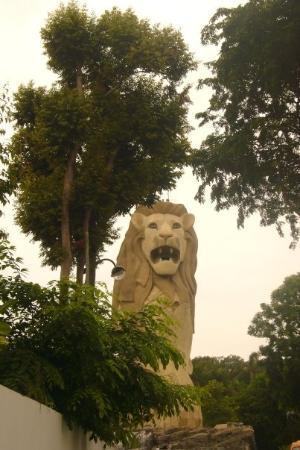 เกาะเซนโตซา, สิงคโปร์: ...望真d...佢對眼邊透明ge.. = =..好鬼恐怖qar...