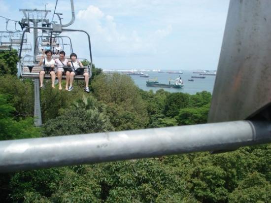 เกาะเซนโตซา, สิงคโปร์: ...個feel 好正ar..唔望下面的話..=u=..因為隻腳diu diu fing 緊...:p..哈...