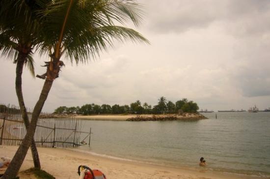 เกาะเซนโตซา, สิงคโปร์: ...好可惜...今日天陰..><..無咩feel...