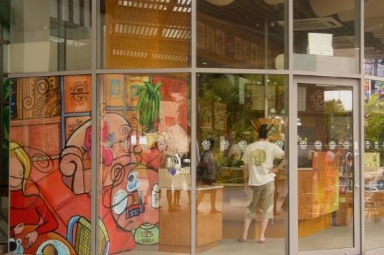 เกาะเซนโตซา, สิงคโปร์: ...coffee bean cafe...#u#...周圍都有分店...