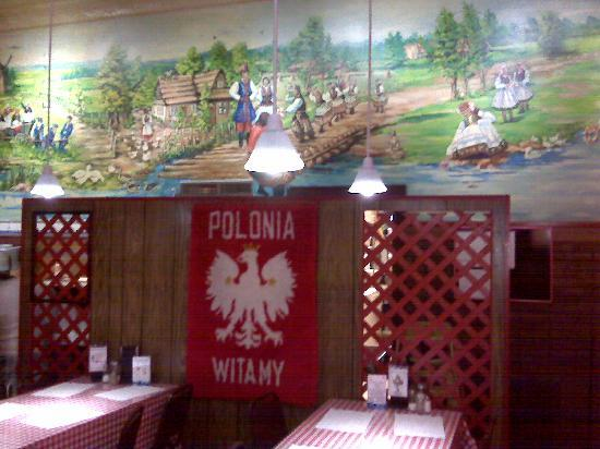Polonia Polish Restaurant: Interior