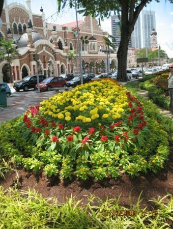 Little India Brickfields: Un giardino curatissimo nella stupenda città di Kuala Lumpur