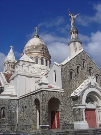 มาร์ตินีก: Eglise de Balata, reproduction miniature du sacré coeur