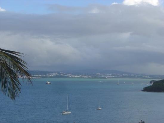 มาร์ตินีก: vue sur la baie de Fort de France de l'anse à l'âne