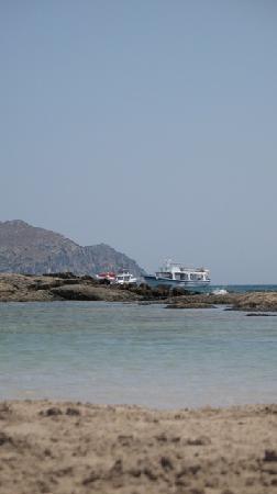 Ammos Hotel: Elafonisi beach