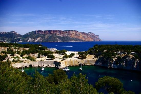 แคสซิส, ฝรั่งเศส: Calanques