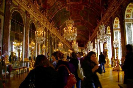 แวร์ซาย, ฝรั่งเศส: Galerie des glaces