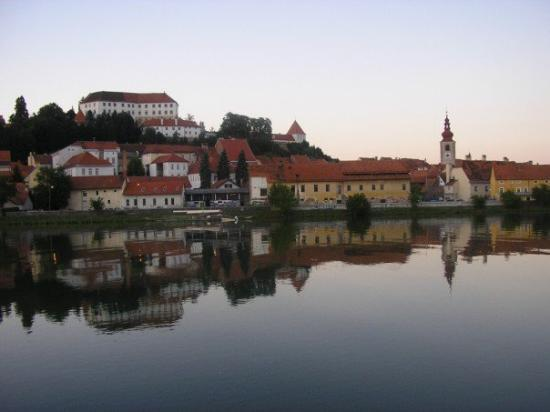 Ptuj and the Drava River