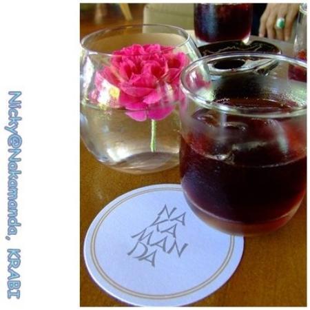 นาคามันดา รีสอร์ท แอนด์ สปา: Welcome Drink