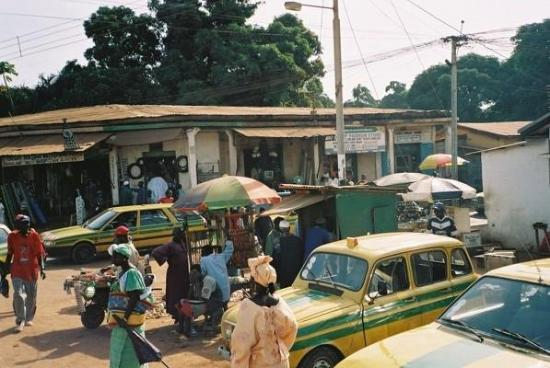 Serekunda, แกมเบีย: Serrekunda, Gambia Nov 2005