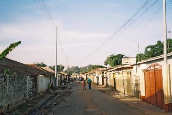 Street in Bakau