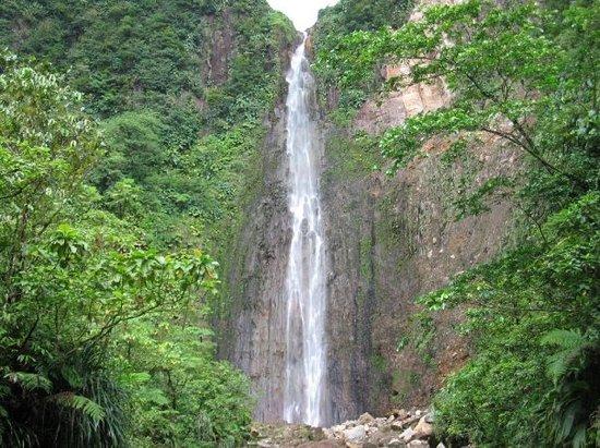 Parc National, Guadeloupe: Les chutes du Carbet