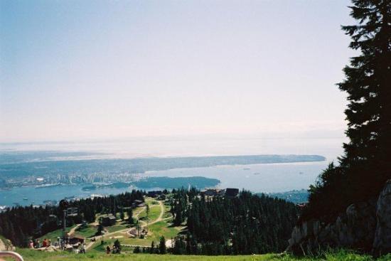 แวนคูเวอร์, แคนาดา: Vancouver from Grouse Mountain Canada 200-2007