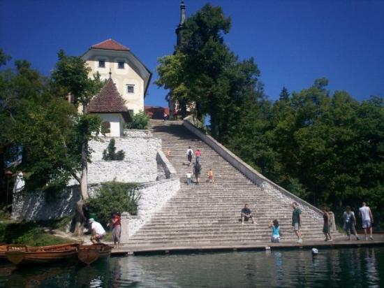 เบลด, สโลวีเนีย: Island on Lake Bled
