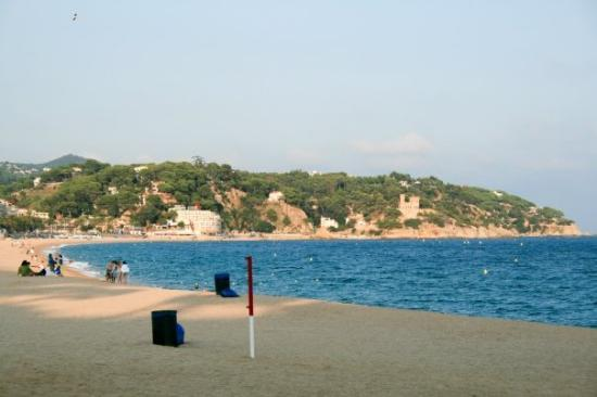 Lloret de Mar, สเปน: La playa desnuda #2