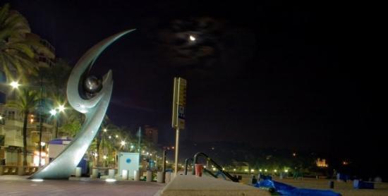Lloret de Mar, สเปน: Playa de noche #3