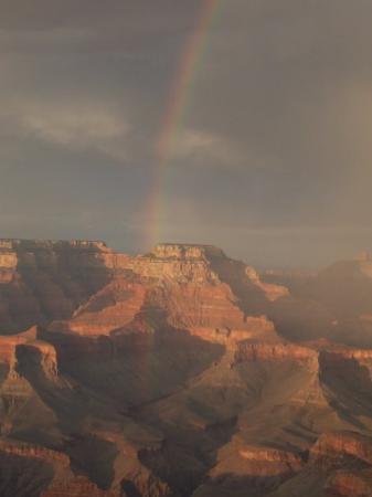 อุทยานแห่งชาติแกรนด์แคนยอน, อาริโซน่า: Rainbow - Grand Canyon, Yaki Point