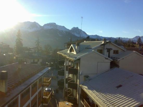 Sauze d'Oulx, อิตาลี: balcony view