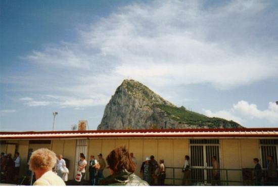 The Rock of Gibraltar ภาพถ่าย