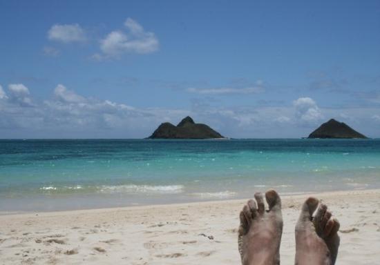Lanikai Beach ภาพถ่าย