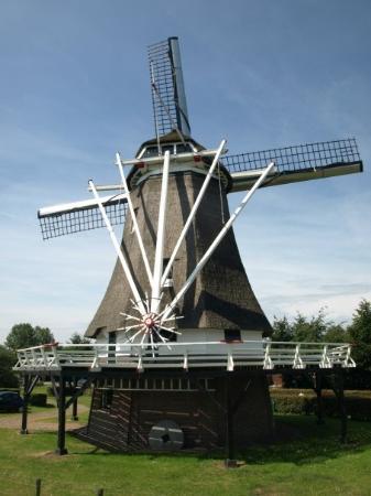 Kampen's windmill.