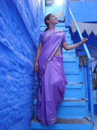 โชธปุระ, อินเดีย: Me and my new saree, Jodhpur