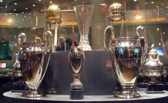 Amsterdam ArenA: Trophy cabinet