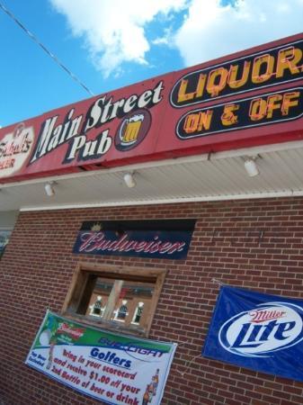 Kimball, มินนิโซตา: The bar...