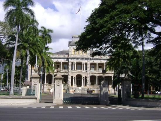 Iolani Palace: Ioliani Palace, Honolulu