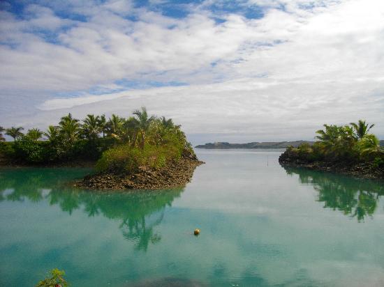 วานานาวูบีชรีสอร์ท: The marina