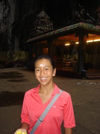 Batu Caves: Hindu Blessing