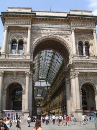 มิลาน, อิตาลี: Galleria